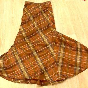 Dresses & Skirts - Steam punk mermaid fishtail plaid skirt small